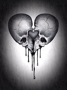~Gothic Art Would be good as a tattoo. I'll have to have a go at drawing this. Skull Tattoos, Body Art Tattoos, Tattoo Drawings, Tatoos, Totenkopf Tattoos, Geniale Tattoos, Skull Artwork, Tatoo Art, Skull And Bones