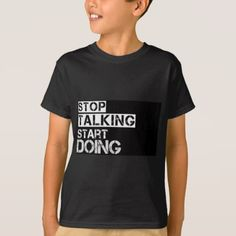 #Stop_talking T-Shirt - #cool #kids #shirts #child #children #toddler #toddlers #kidsfashion