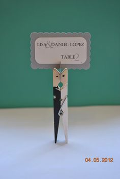 75 of the Cutest Wedding Favor or Placecard by PinnedTogether, $138.75