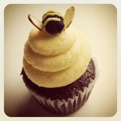 Rosh Hashana cupcake