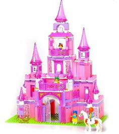 iPlay Fairy Princess Pink Castle - Build it yourself - Building Blocks - 472pcs - XLarge by Kids Authority. $99.95. Great for Children 6 and Up - Washable materials - safe for kids. Eco friendly Toy - Will bring hours of fun during holiday - Great for gifting. High quality plastic,Grade A, ABS plastics, Non Toxic, Certified. play with Hundres of blocks and make a castle lego - you can also chagne the design. Castle Building block set - 476pcs - XL Box. lego castle is ...