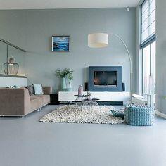 Marmoleum vloer | Project | Split-level woning in Krimpen a/d IJssel | Woninginrichting Aanhuis
