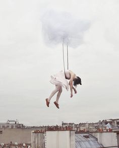 Sleep Elevations' is a surreal photography project by Maia Flore.