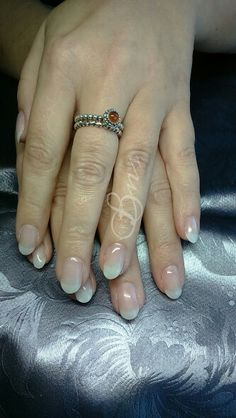 Full set extensions with T3 gel.. Nails by janice # Cuccio