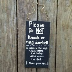 Do not knock sign Sleeping dad sign new dad gift sleeping baby sign No Solicitation Do not disturb door sign No Soliciting Sign by ThePeculiarPelican #etsyseller #etsyshop #woodensigns #customsigns #shopsmall #shopping #gifts #giftideas #porchsigns #weddingsigns #southernsigns #quotes #handmade #handpainted #signs http://ift.tt/2e0jOk3