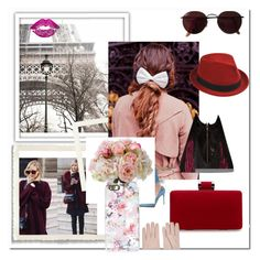 A fashion look from March 2016 featuring mesh top, red hand bags and hair bow. Browse and shop related looks. Oliver Gal, Casetify, Ted Baker, Hair Bows, Valentino, Ray Bans, Fashion Looks, Romantic, Artist