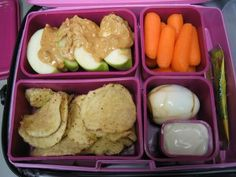 healthy school lunch packing ideas. One of the best sites I've found for healthy eating and brown bag lunches. I'll have to go back and take a longer look here!