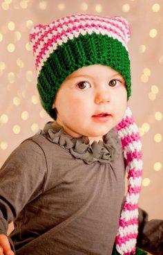 0dcc79fd703 Crochet pixie hats for 2014 Christmas