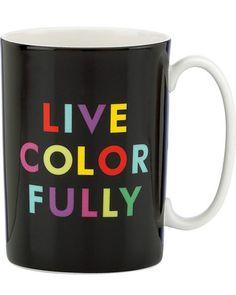 Kate Spade kate spade new york Live Colorfully Mug from Bloomingdale's | BHG.com Shop