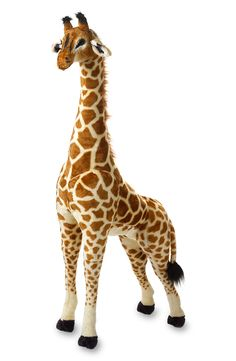 Melissa & Doug Oversized Giraffe. Finally a place to put Beauregard the giraffe!!