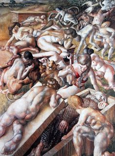 The-Temptation-of-St-Anthony-Stanley-Spencer.jpg (942×1280)