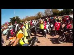 Antalya 29 ekim motosiklet korteji