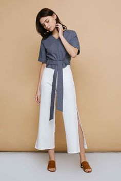 Affordable Fashion, Ready To Wear, Duster Coat, Woman, Fall, How To Wear, Pants, Jackets, Clothes