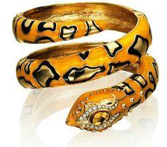 Anna-Dello-Russo-Snake-Bracelet-Sunglasses-H-M-Gold-Green-Black-New-BNWT