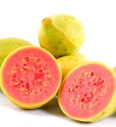 Guayaba-Guavas are also extremely tasty; In Cuba used as a natural remedy for colds and flu.