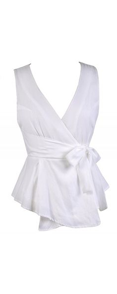 Lily Boutique Tie Side Crossover Top