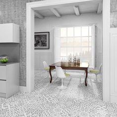 Chelsea Grey Decor Tiles | Walls and Floors