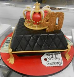 King Crown Pillow Money Cake by LariKCreations Part1 Crown