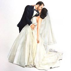 Your wedding day should be unforgettable. Drawberry has found some great tips for your wedding day. Wedding Images, Wedding Pictures, Marriage Anniversary, Sketchbook Drawings, Wedding Prints, Wedding Topper, Wedding Glasses, Watercolor Fashion, Fashion Sketches