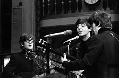 1964 - John Lennon, Paul McCartney and George Harrison.