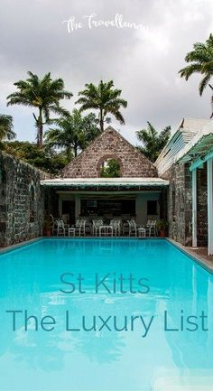 St Kitts - The luxury list. Hotels, bars, restaurants and more besides. Top venues for a luxury stay on the authentic Caribbean island. Hotels And Resorts, Best Hotels, Luxury Hotels, Top Hotels, Hotels Disney, Hilton Hotels, Fine Hotels, Florida Hotels, Marriott Hotels