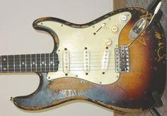 Mike McCready's1959 Sunburst Fender Stratocaster