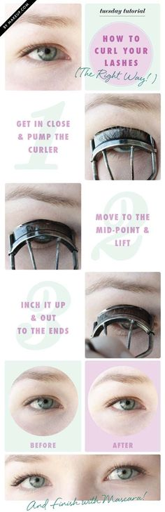 Ways to Get the Best Eyelashes Ever - How to Curl Your Eyelashes - Step By Step Tutorials for DIY Eyelashes, Drugstore and Name Brand Products. Includes Natural, Fake, False, and Extensions Tutorials. These are Quick And Easy And Simple. You Can Use A Curler, Glue, Serum, And Primer. Beauty Tips and Tricks, Instructions Makeup - Mascara and eyelash and eyelashes - https://thegoddess.com/get-best-eyelashes