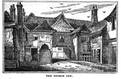 Public domain images: George Inn, Uxbridge Castle House, Public Domain, Cathedral, Island, History, Painting, Image, Drawings, Historia