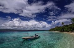 The paradisiacal waters of Havannah Harbour on the south side of Tranquillity Island. Vanuatu.  Love Life Love Photography by intrepidphotos