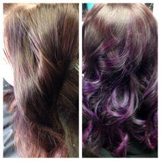 Pretty purple princess 💜 By amandahernandez Amanda, Salons, Long Hair Styles, Princess, Purple, Pretty, Beauty, Amethyst, Beleza