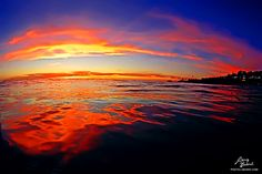 """Last Night's Sunset  """"Psychedelic Dusk""""  I set out around 2pm to find something that might catch my eye. I wasn't until the sun set that I captured this. My patients paid off. God's art show.   Repin and Share if you like it.  Aloha...."""