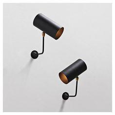 styletaboo:  Serge Mouille - Tuyau wall lamp [1955]