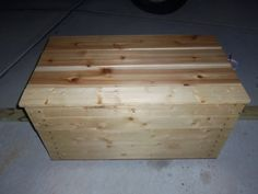 solid beautiful hope chest
