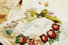 Handmade Baltimore Quilt wedding ring cushion | Flickr - Photo Sharing!