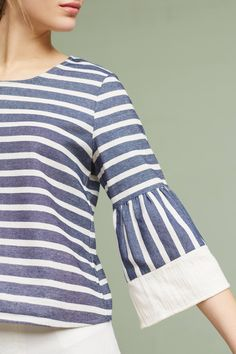 Slide View: 4: Mariana Striped Top
