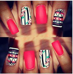 Stripes & flowers :)