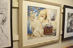 HMV bengal cat watercolour painting by Kelly Archer Cat Watercolour, Enamel Jewelry, Archer, Bengal, Pet Portraits, Pets, Home Decor, Sterling Archer, Flare