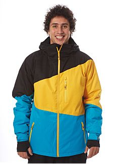 Light Sieben - Snowboard Jacket for Men - Multicolor Snowboard Shop, Snowboarding Outfit, Sport, Rain Jacket, Street Wear, Windbreaker, Tops, Jackets, Men