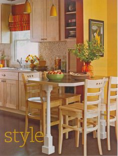 citrus fall kitchen