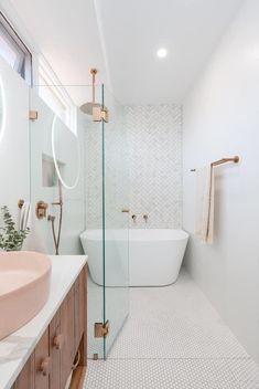 Bad Inspiration, Bathroom Inspiration, Bathroom Renos, Bathroom Ideas, Bathroom Store, Bathroom Organization, Remodled Bathrooms, Bathroom Designs, Inside Design