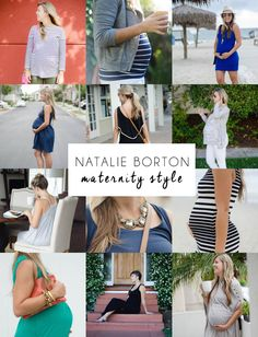 Maternity Style Inspiration via @natalieborton