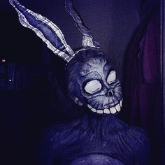 Donnie Darko Frank Costume sfx makeup and face paint