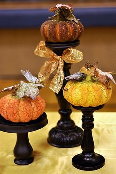 Thanksgiving decor for a large event. Fantastic ideas!