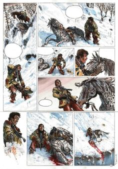 Planche originale de bande dessinée, galerie Napoléon  : Divers - Planche originale 2 du tome 3 de