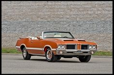 1971 Oldsmobile 442 W-30 Convertible
