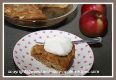 Yummy Apple Dessert - EASIEST EVER!!