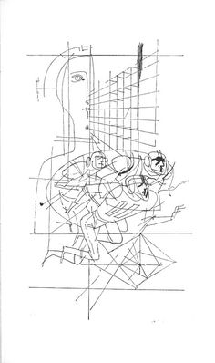 János Kass- The tragedy of man Teaching Literature, Room Ideas, Diagram, Draw, Graphic Design, Illustration, Wall, To Draw, Sketches