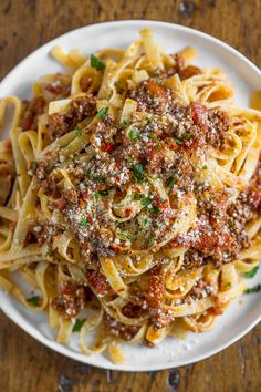 Slow Cooker Parmesan Meat Sauce