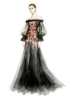 JIAYIN LI Fashion   ILLUSTRATION