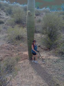 Arizona gold miner, metal detecting in Arizona, gold prospecting
